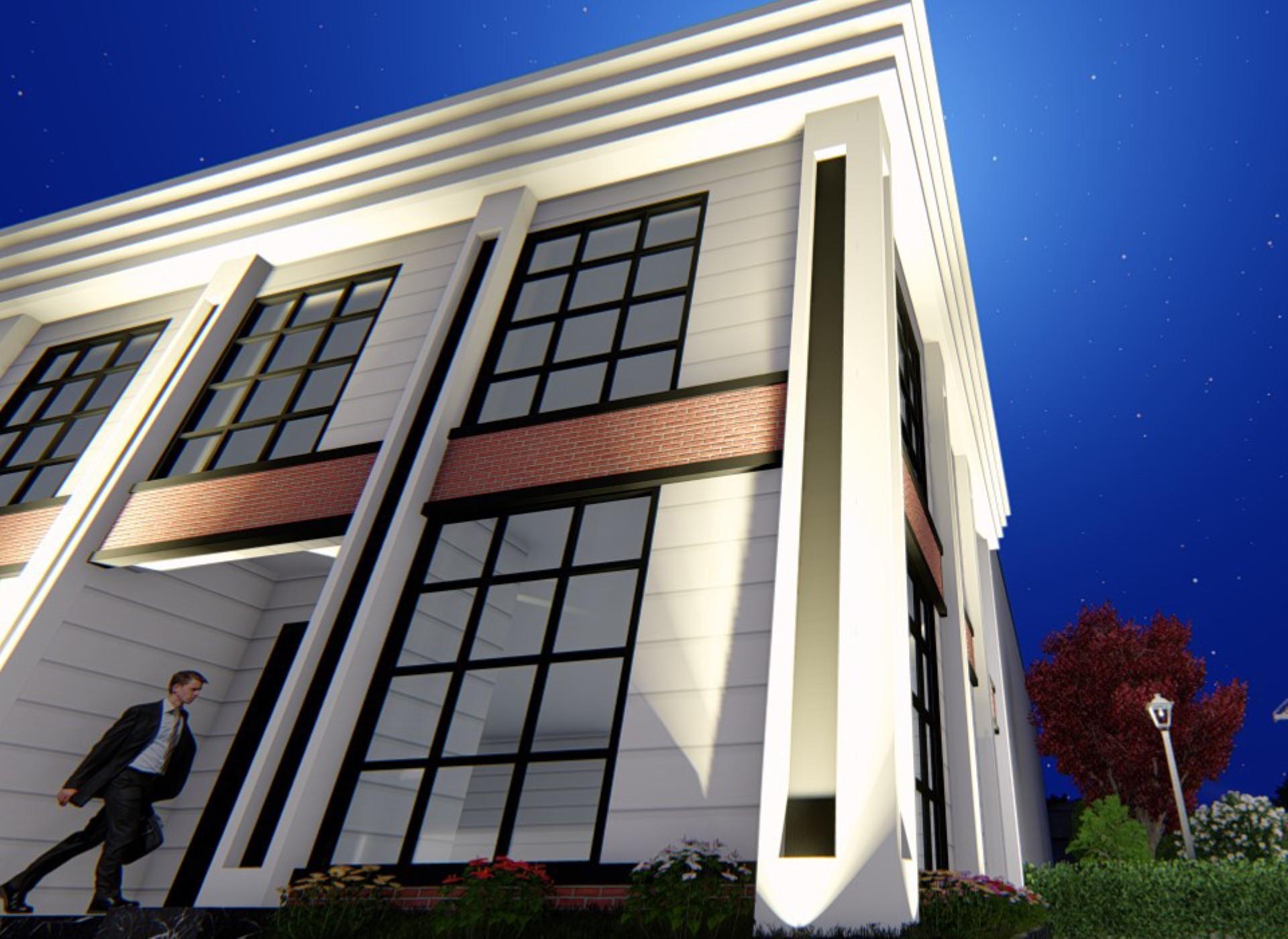 Fabrika İdari Bina Tasarımı