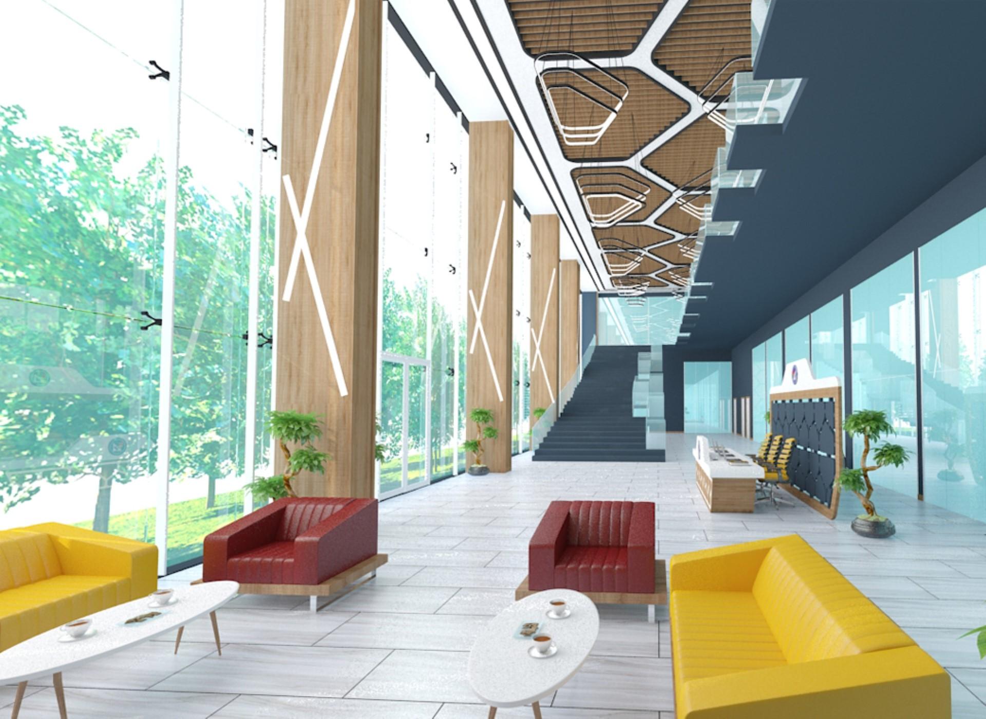 Kolej Lobi Tasarımı